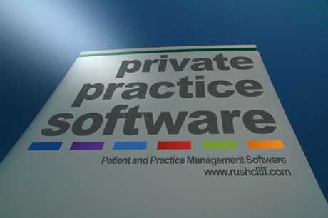 Private Practice Software Conference Advertisement Banner